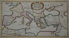 Römisches Reich - Rei Romanae tabula geographica - Duval 1676 - Rare map -Du Val