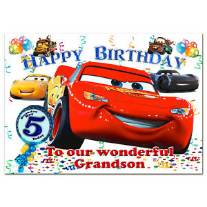 Image Is Loading G038 Large Personalised Birthday Card Printed With Your