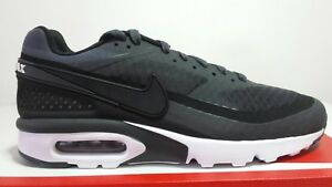 brand new 58c8d 338ca Image is loading NIKE-AIR-MAX-BW-ULTRA-DARK-GREY-BLACK-