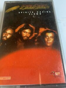 Bee Gees - Spirits Having Flown Cassette Tape - Good Condition