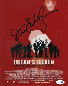 STEVEN-SODERBERGH-signed-MOVIE-DIRECTOR-OCEANS-8X10-PROOF-ACOA-Authentic-4