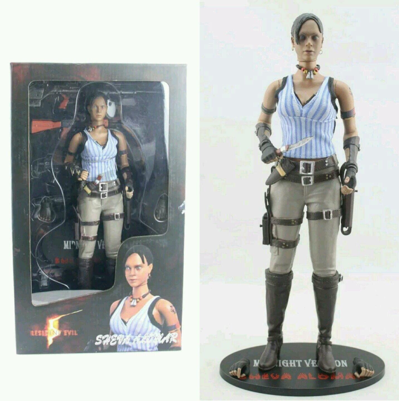 Resident evil 5   figura fährt alomar 30 cm   action - figur 12.