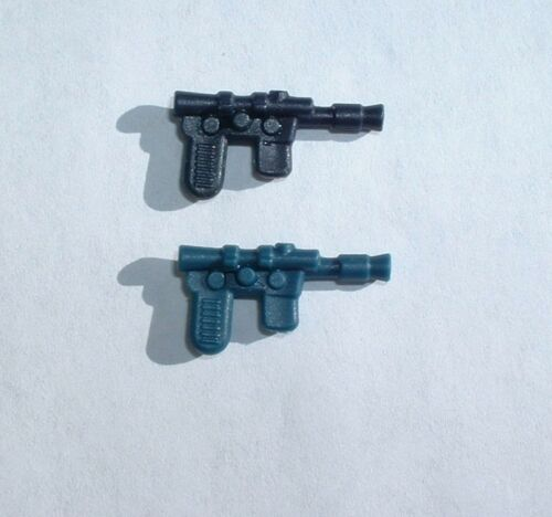 4 LOT Black /&Blue REPRO Han,Luke Blaster Weapons 1977 ESB 1980 Vintage Star Wars
