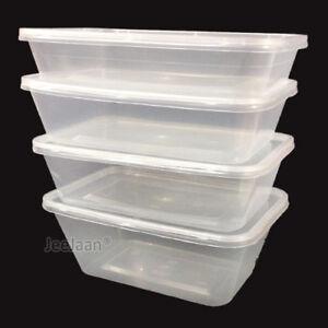 Tapa Envases de plástico para llevar comida microondas congelador Cajas De Almacenamiento