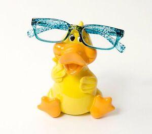 Duck-Eyeglass-Piggybank-Eye-Glass-Glasses-Spectacles-Holder-Optipet-New