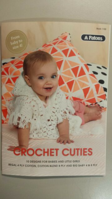 3fb7f6834c82 Patons Crochet Cuties Pattern Book 1102 by Spotlight