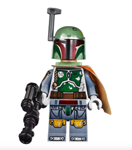 Lego Star Wars Minifigure Boba Fett & Weapon 75060 UCS New Rare