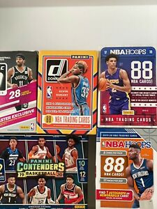 NBA Assorted Mystery Pack 10 Cards 1 Rookie RC Guaranteed!