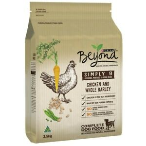 Purina Beyond Chicken And Whole Barley Complete Dry Dog Food 2.5 kg