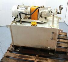Daikin 3hp Hydraulic Unit V15a2r 95 Piston Pump 42 Gallon Tank Press Comp