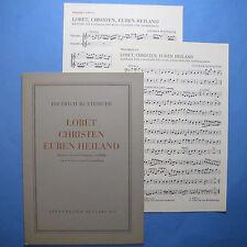 Lobet, Christen, euren Heiland. F. Buxtehude. Kantate. Bärenreiter 481. 1954.