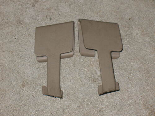 """1994-2004 FORD MUSTANG CONVERTIBLE REAR PANEL SEAT BELT  /""""T/""""  COVER BEIGE"""