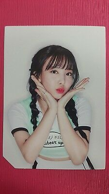 TWICE MINA Official Photocard PINK Ver 2nd Album PAGE TWO Photo Card 미나