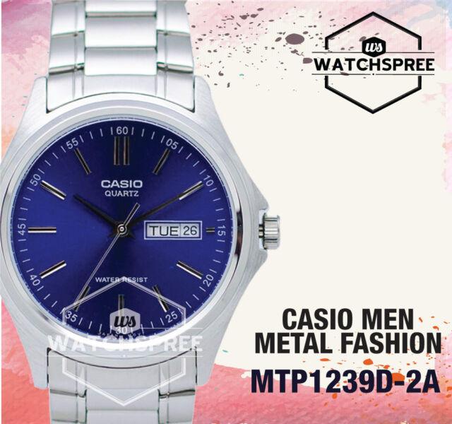 Casio Classic Series Men's Analog Watch MTP1239D-2A