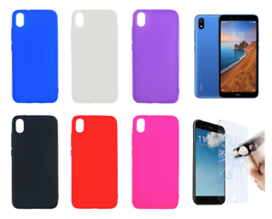 Case-Cover-Gel-TPU-Silicone-For-Xiaomi-Redmi-7A-4G-5-45-034-Optional-Protector