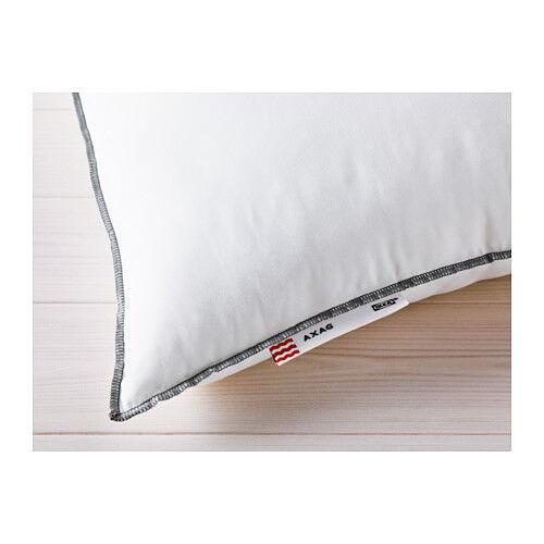 PUP10 SOFTER New IKEA AXAG Machine Washable soft Firmer Pillow  50x80cm