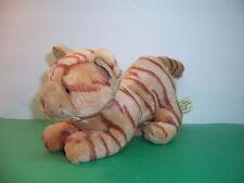 "TARGET - CAT - ORANGE STRIPED TIGER TABBY KITTY - 9"" LONG - EUC"