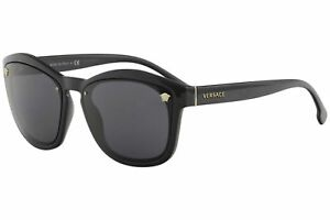 fe85e2d6d62 Image is loading Authentic-Versace-Sunglasses-VE4350-GB1-87-57mm-Black-