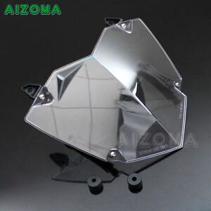 Motorcycle-Headlight-Lamp-Guard-Cover-Deflector-Windshield-Fit-BMW-R1200GS-WC
