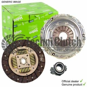 VALEO COMPLETE CLUTCH KIT FOR TOYOTA AVENSIS SALOON 1762CCM 110HP 81KW (PETROL)