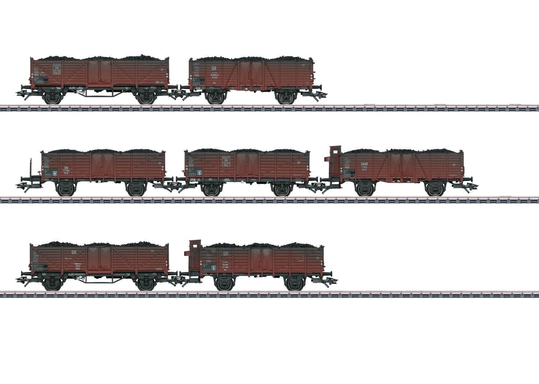 Compra calidad 100% autentica Märklin 46028 Set de vagones 7 piezas con con con kohlenladung DB ep.iii NUEVO  conveniente