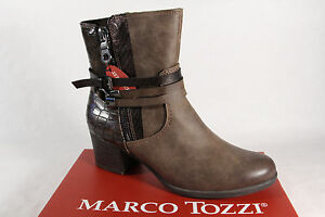 Details about Marco tozzi Women's Ankle Boots Boots Braun 25304 New