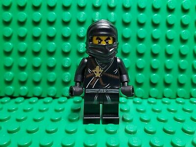 LEGO Ninjago Minifigure Zane The Golden Weapons minifig njo001 FREE POST