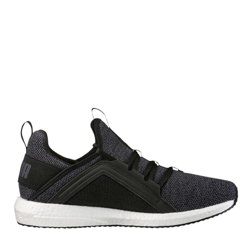 Puma Mega NRGY Knit Damen Laufschuhe Sneaker schwarz/dunkelgrau