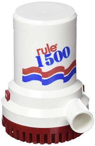 Rule 3700 GPH Non-Automatic Bilge Pump 15A 32v