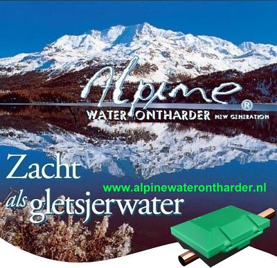 Alpine Waterontharder New Generation - Tv-aktie - Topper In Antikalk Oplossingen