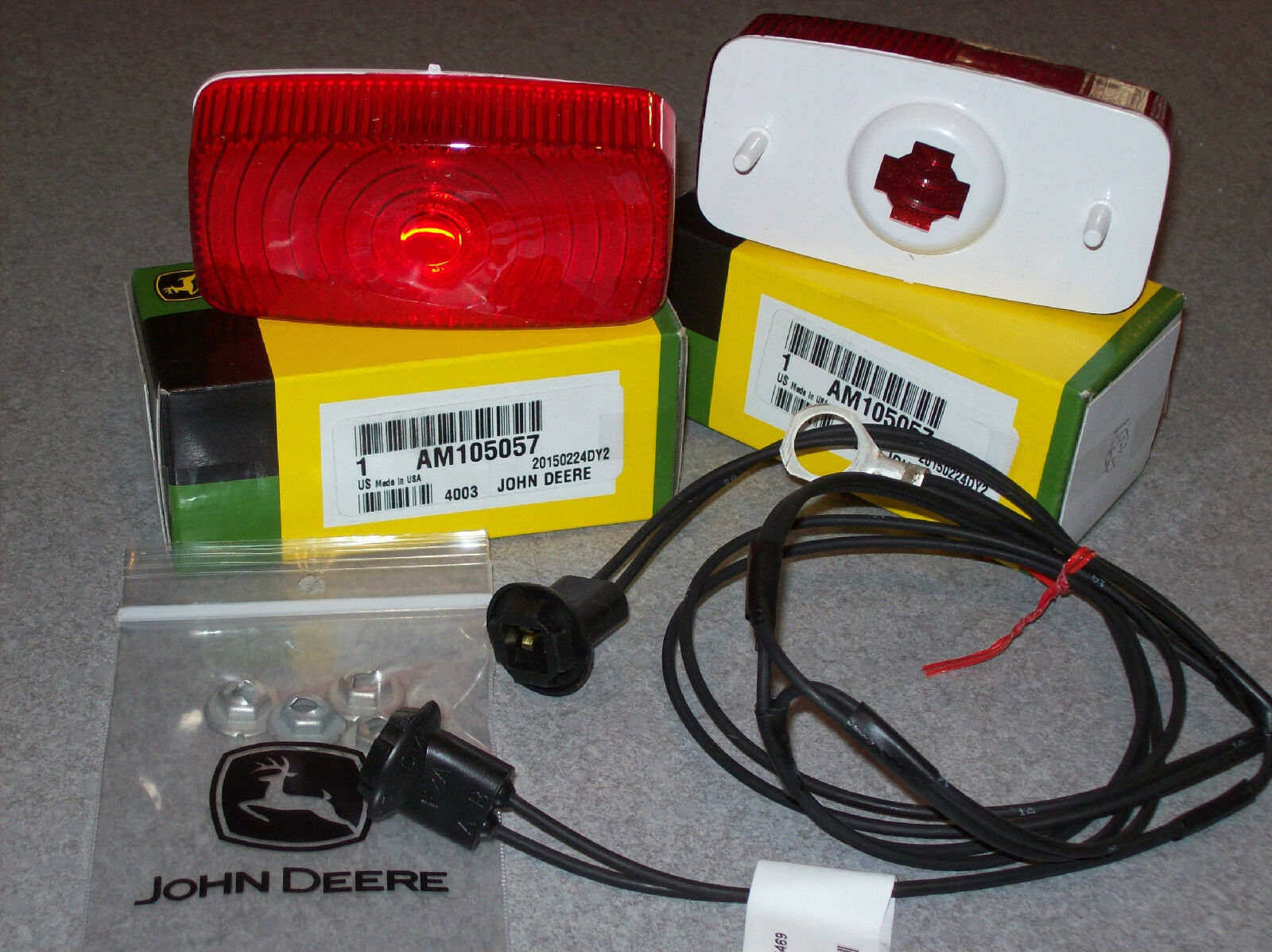 John Deere 210 212 214 216 300 312 316 317 400 Taillights New Wiring Harness Am105057 Am35469 Ebay