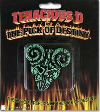"OFFICIAL TENACIOUS D '""PICK OF DESTINY"" MOVIE REPLICA CLAYTON GUITAR PICK *NEW*"
