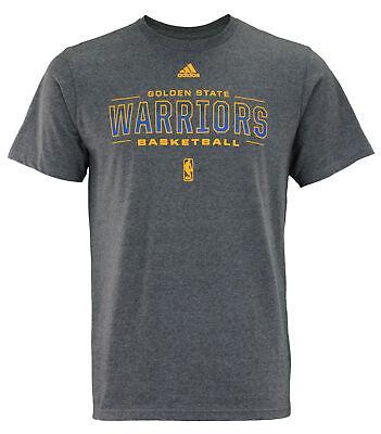 Basketball-nba T-shirts Nice Adidas Nba Men's Golden State Warriors Fadeaway Go-to Tee Choice Materials