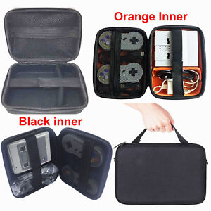 Details about Carrying Hard Storage Case Bag for Nintendo Super NES SNES  Classic Mini Console