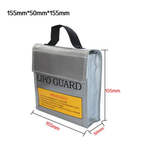 New LiPo Li-Po Battery Fireproof Safety Guard Safe Bag Battery Safe Storage Bag