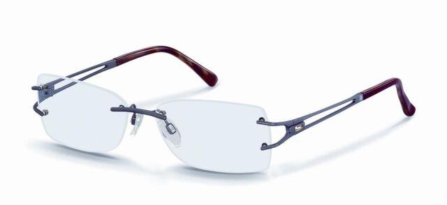 Rodenstock R 4849 B Brille Fassung (LP179€) randlose Damenbrille Neu vom Optiker