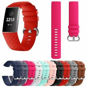 Replacement-Soft-Strap-Bracelet-Silicone-Wristband-Watch-Band-fr-Fitbit-Charge-3