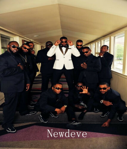 White Black Best Man Groomsman Men/'s Wedding//Prom 3 Piece Suits Groom Tuxedos