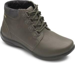 Padders-JOURNEY-Ladies-Womens-Leather-Extra-Wide-2E-3E-Ankle-Boots-Green