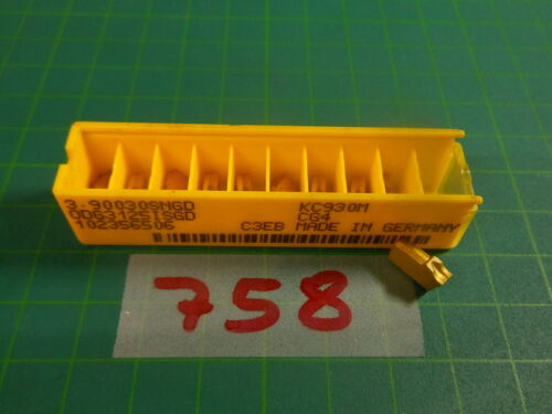 3.90030SNGD 10 x Kennametal ODG 3125 ISDG KC930M; ; NEU /& OVP; NEW