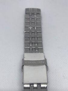 Michael-Kors-MK5018Stainless-Steel-Silver-Bracelet-Watch-Band-H64