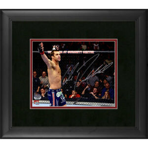 FANATICS-AUTHENTIC-UFC-LUKE-ROCKHOLD-SIGNED-8-X-10-PHOTO-FRAMED-AUTO-CHAMP-AKA