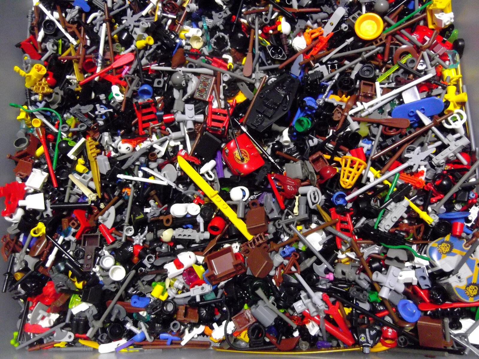 ☀️WOW 500x RANDOM LEGO MINIFIG Accessories BULK LOT MINIFIGURES MINI FIGURE