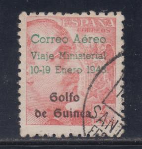 GUINEA-1948-USADO-SPAIN-EDIFIL-272-4-pts-FRANCO-LOTE-1