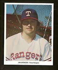 1973 1974 Jim Spencer Texas Rangers Baseball Promo Photo 7 x 8 Inch