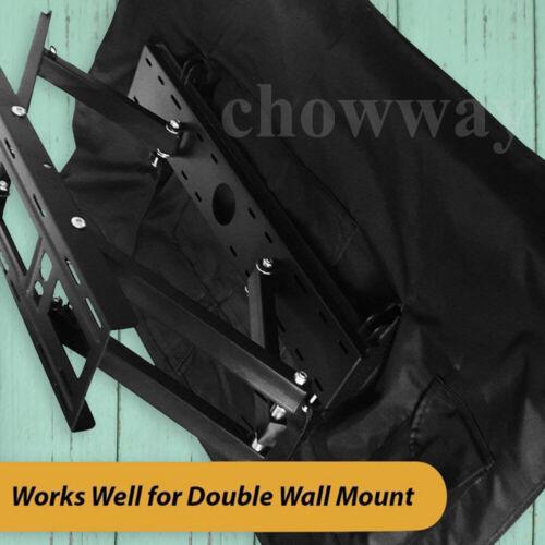 Weatherproof Dust-proof Outdoor TV Cover Flat Screen Cover Protector UK stock