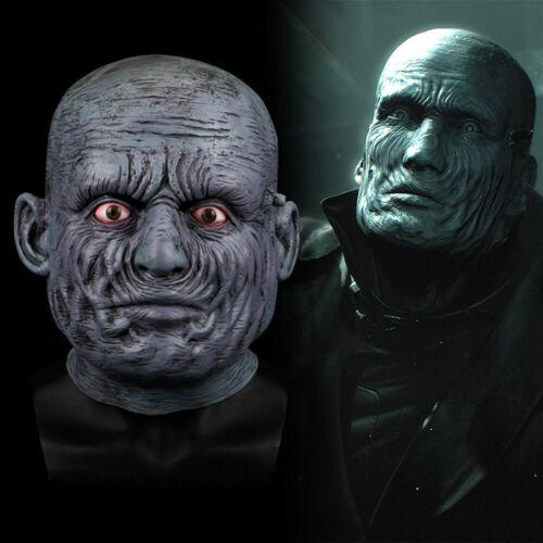 2019 Game Resident Evil 2 Remake Tyrant Cosplay Mask Latex Full Head Halloween