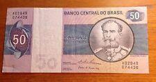 50  CRUZEIROS BANCO CENTRAL DO BRASIL A02949 074438