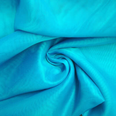 Indian Natural Plain Blue 1 Yard 100/% Cotton Craft Voile Light Weight Fabric