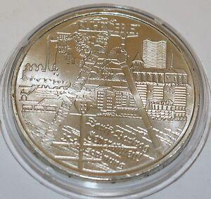 10 Euro Münze Deutschland Brd Industrielandschaft Ruhrgebiet Silber